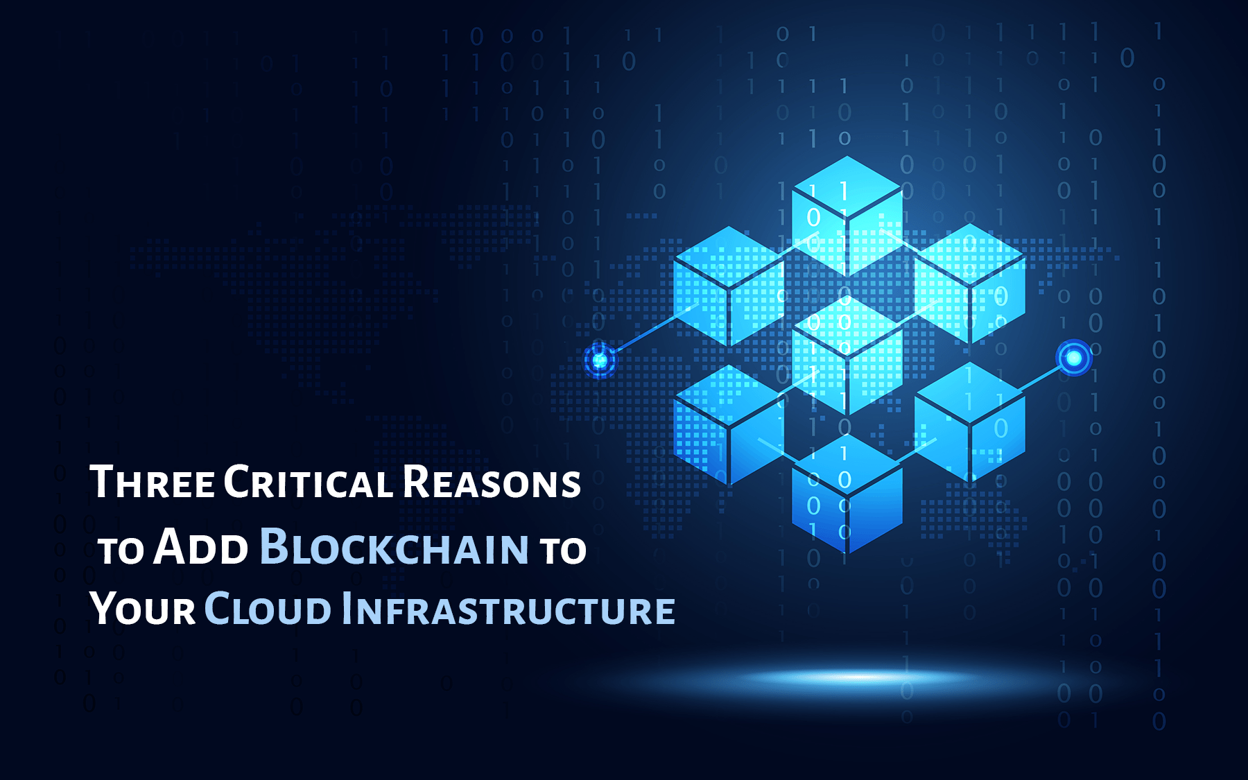 Add Blockchain to Your Cloud Infrastructure