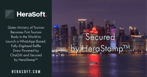 HeraStamp is implemented by the Qatari government